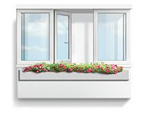 Остекление лоджий и балконов в теплом варианте, профиль Gealan S3000
